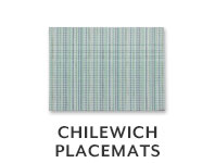 Chilewich Placemats.