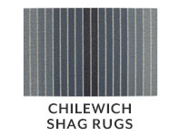 Chilewich shag rugs.