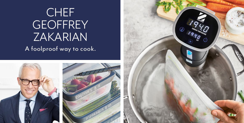 Chef Geoffrey Zakarian. A foolproof way to cook.