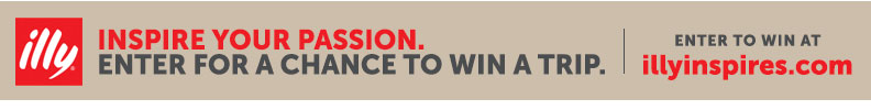 illy inspire your passion. Enter for a chance to win a trip. Enter to win at illyinspires.com.