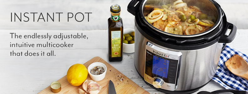Instant Pot, The endlessly adjustable, intuitive multicooker that does it all.