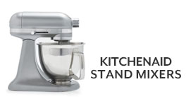 KitchenAid stand mixers.