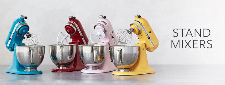 KitchenAid Stand Mixers.
