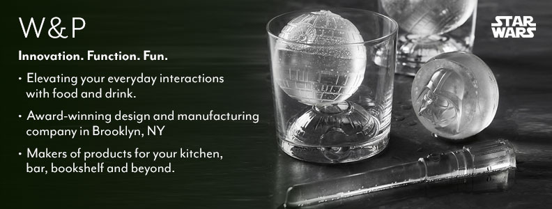 W&P Innovation. Function. Fun. Elevating your everyday interactions with food and drink. Award-winning design and manufacturing company in Brooklyn, NY. Makers of products for your kitchen, bar, bookshelf and beyond.