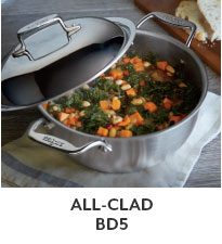 All-Clad BD5 Cookware.