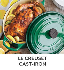 Le Creuset Cast Iron.