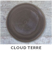 Cloud Terre Dinnerware.