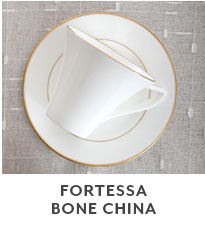 Fortessa Bone China.