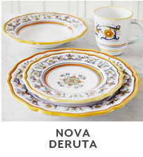 Nova Deruta.  sc 1 st  Sur La Table & Dinnerware Collections | Designer Dinnerware | Sur La Table