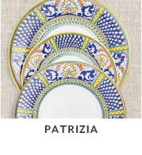 Patrizia dinnerware.