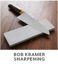 Bob Kramer Sharpening.