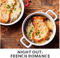 Cooking Class: Night Out: French Romance.