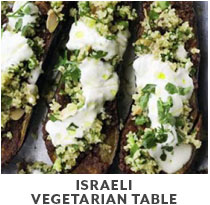 Cooking Class: Israeli Vegetarian Table.