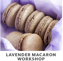 Cooking Class: Lavender Macaron Workshop.