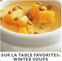 Cooking Class: Sur La Table Favorites Winter Soups.