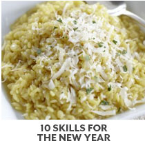 Cooking Class: 10 Skills for the New Year.