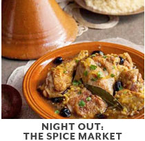 Cooking Class: Night Out: The Spice Market.