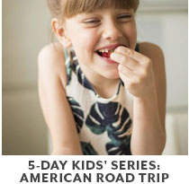 Cooking Class: 5-Day Kids Series American Road Trip.