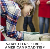 Cooking Class: 5-Day Teens Series American Road Trip.