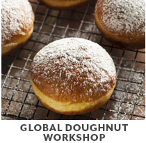 Cooking Class: Global doughnut workshop.