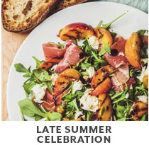 Cooking Class: late summer celebration.