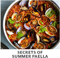Cooking Class: Secrets of Summer Paella.