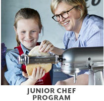 Cooking Class: Junior Chef program.
