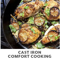 Cooking Class: Cast Iron Comfort Cooking.