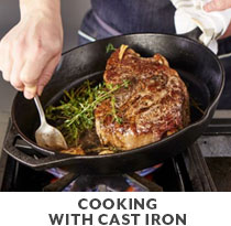 Cooking Class: Cooking with Cast Iron.