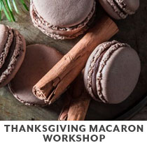 Cooking Class: Thanksgiving Macaron Workshop.