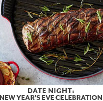 Cooking Class: Date Night New Year's Eve Celebration.