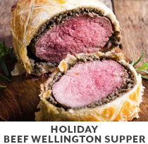 Cooking Class: Holiday Beef Wellington Supper.
