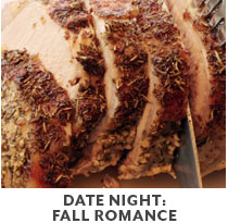 Cooking Class: Date Night Fall Romance.