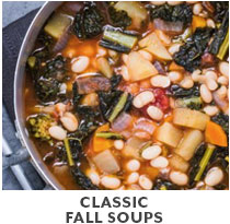 Cooking Class: Classic Fall Soups.