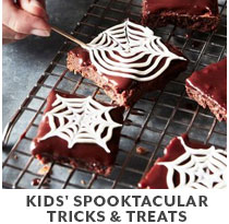 Cooking Class: Kids Spooktacular Tricks & Treats.