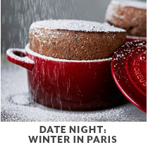 Cooking Class: Date Night: Winter in Paris.