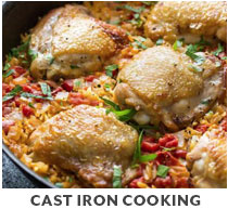 Cooking Class: Cast Iron Cooking.