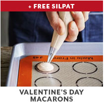 Cooking Class: Valentine's Day Macarons + Free Silpat.