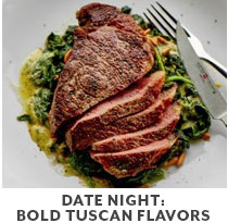 Cooking Class: Date Night: Bold Tuscan Flavors.