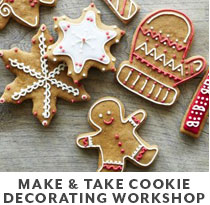 Cooking Class: Make & Take cookie decorating workshop.