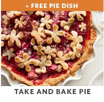 Cooking Class: Take and Bake Pie plus free pie dish.