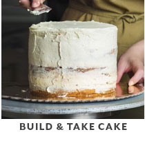 Cooking Class: Build & Take Cake.