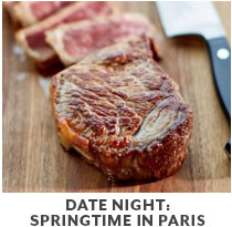 Cooking Class: Date Night: Springtime in Paris