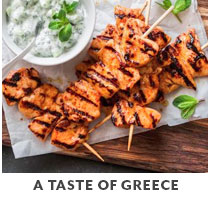 Cooking Class: A Taste of Greece.