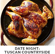 Cooking Class: Date Night: Tuscan Countryside.