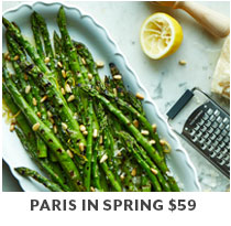 Cooking Class: Paris in Spring $59.