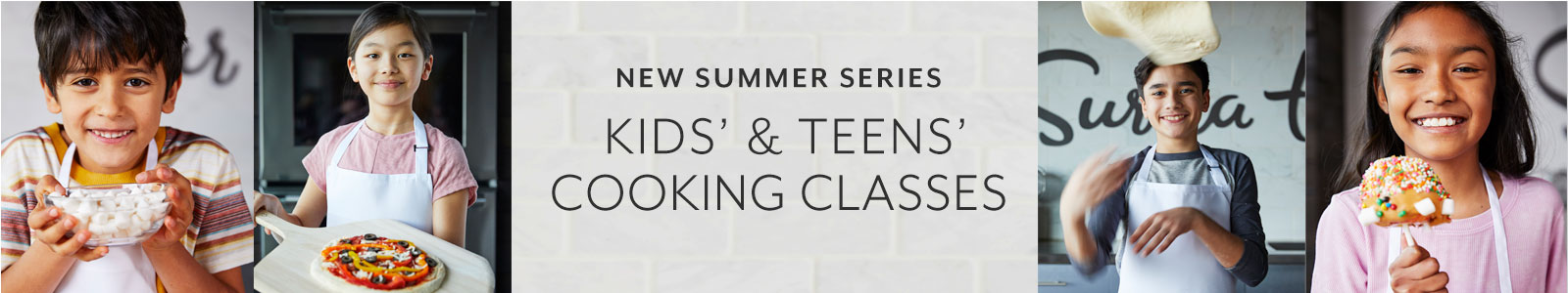 Summer Series For Kids And Teens At Sur La Table