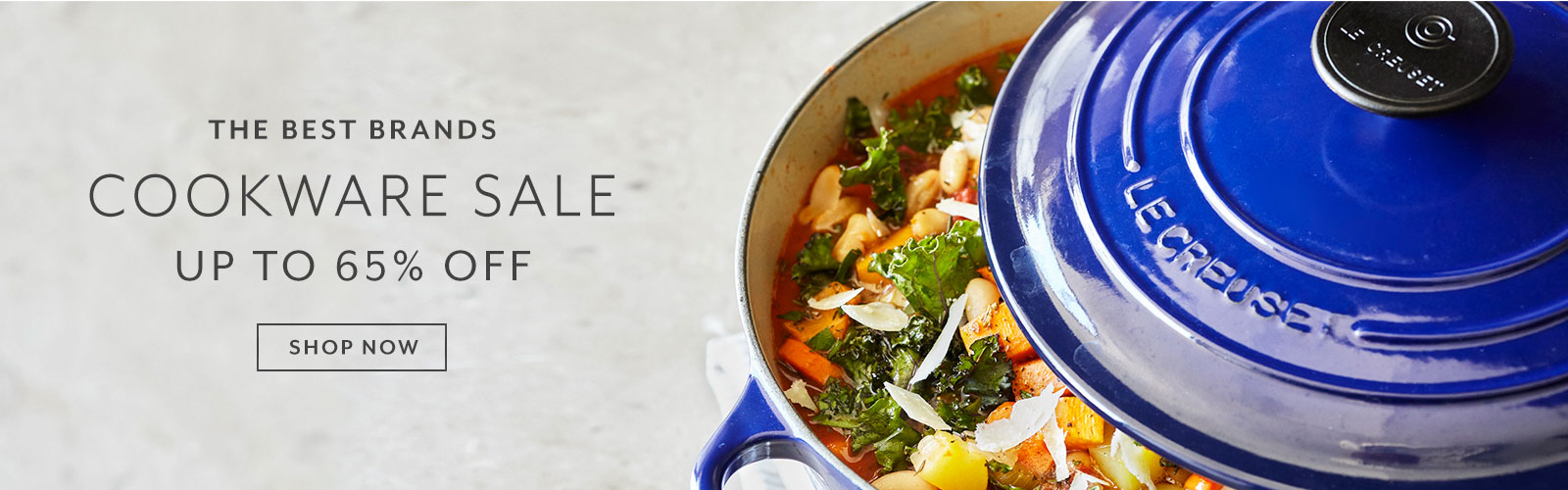 Cookware Sale up to 65% off. Shop now.