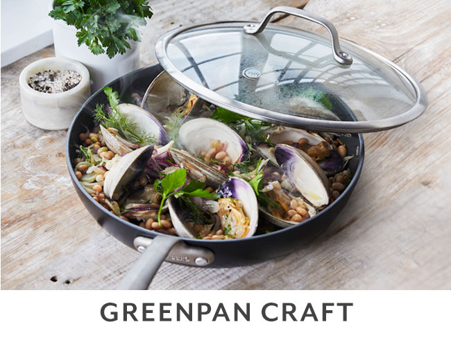 Greenpan Craft cookware