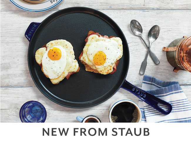 New from Staub